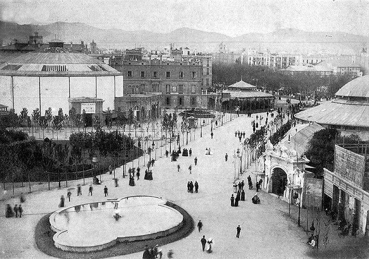 Barcelona, Plaça Catalunya 1888