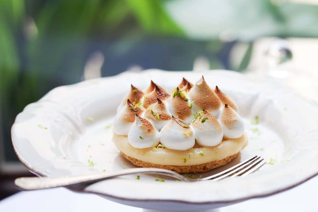 El Cercle Restaurant: Lemon Pie (Lemon and meringue)
