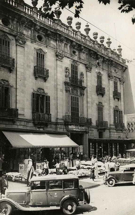 El Palau de la Virreina 1935