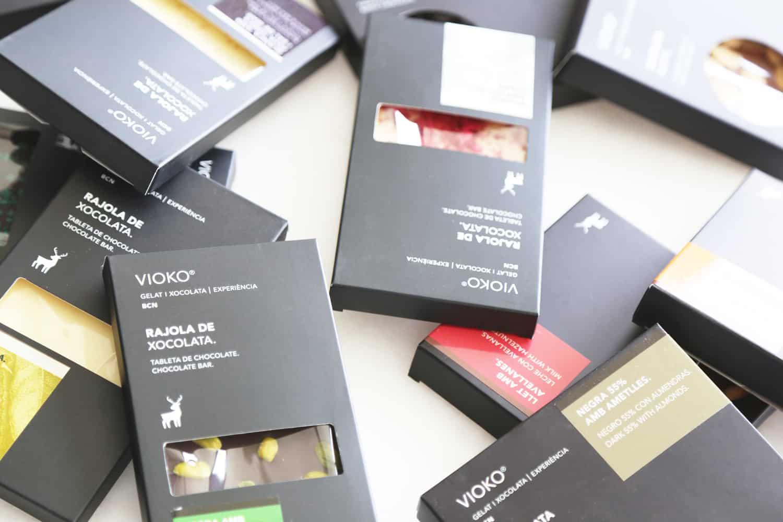 Vioko Barcelona Chocolate Tablets