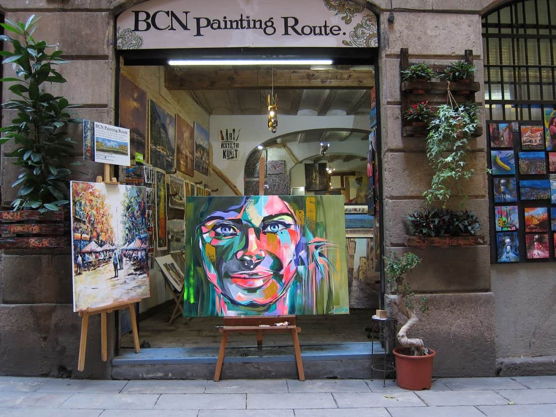 BCN Painting Route Art Gallery