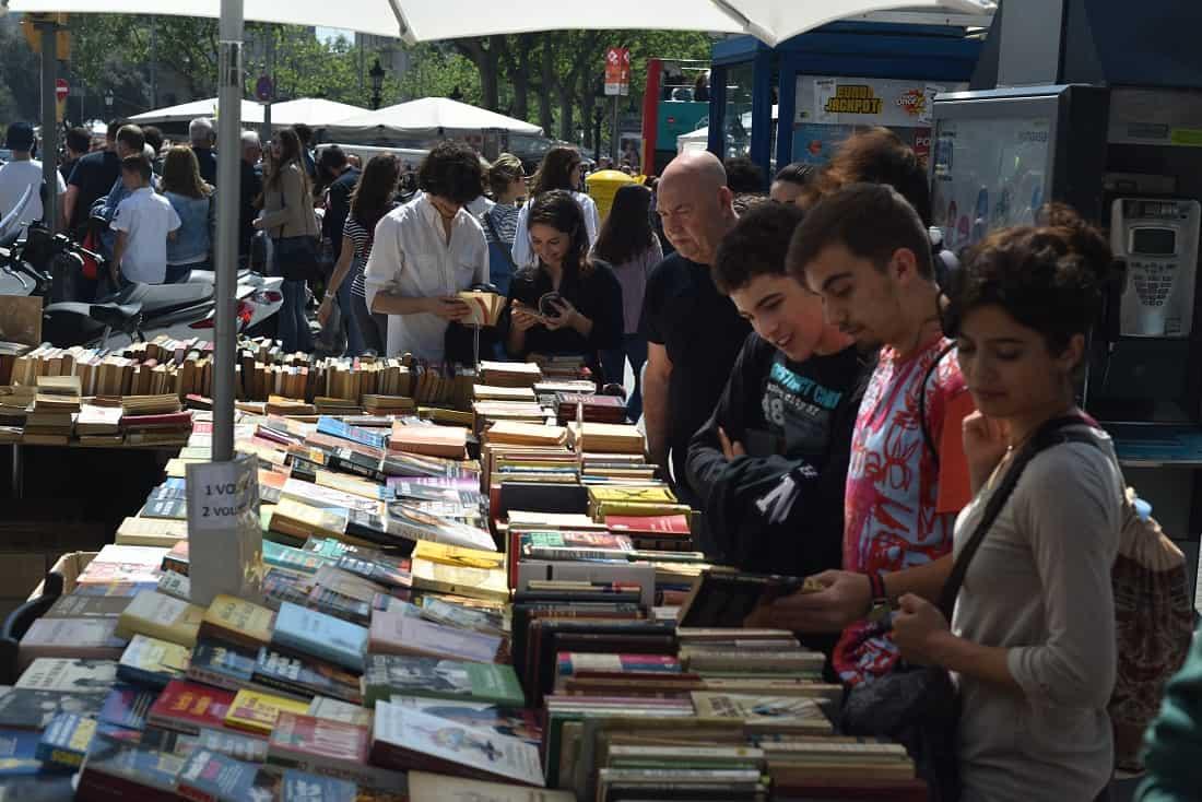 La Diada de Sant Jordi, Books