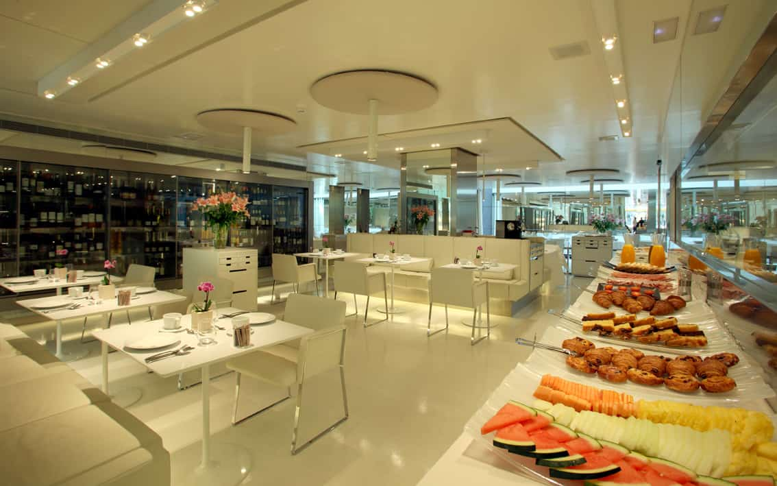 The Mirror Hotel Barcelona, Breakfast Area