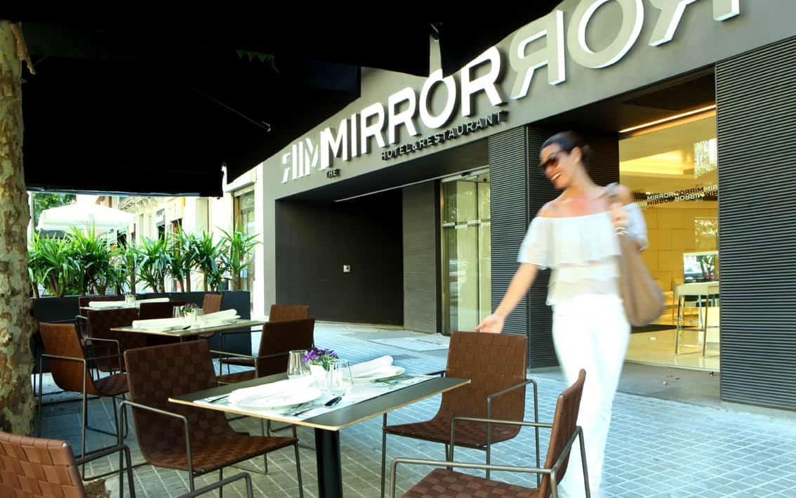 The Mirror Hotel Barcelona, Terrace