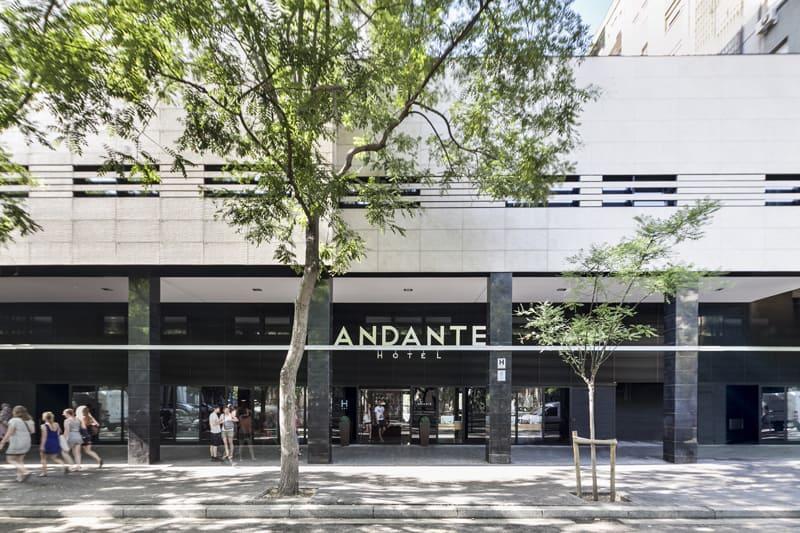 Andante Hotel Exterior