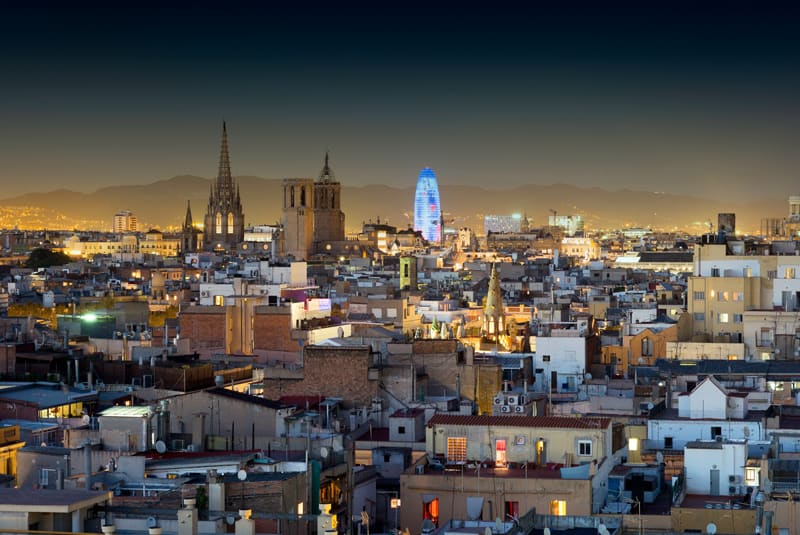 Andante Hotel Night View Barcelona