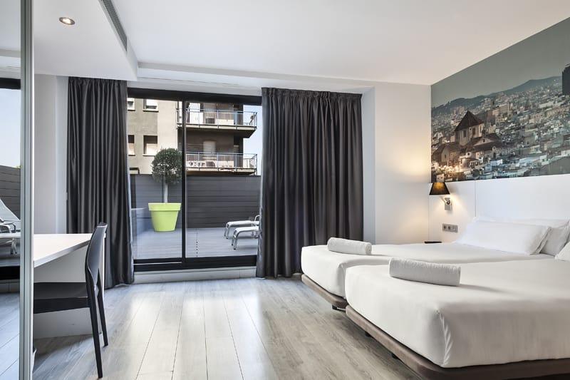 Andante Hotel Twin Room with Sun Terrace