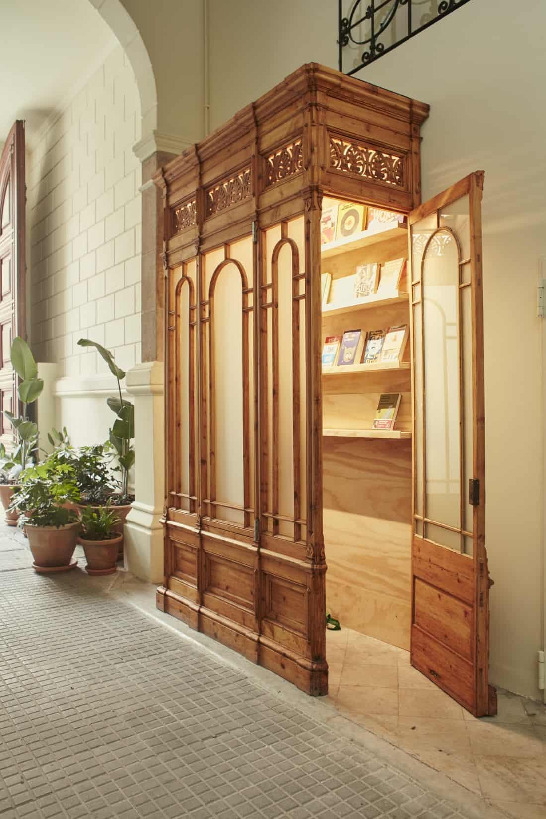 CasaBonay Bookshop Entrance ( c ) Nacho Alegre