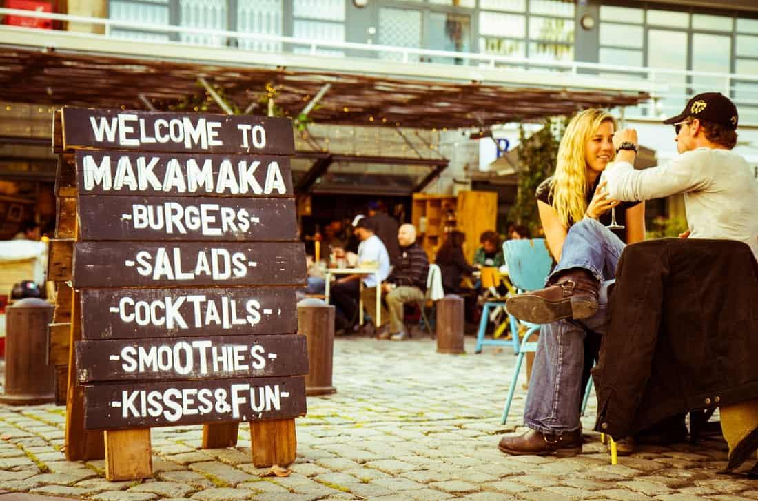 Makamaka Beach Burger Café Barcelona
