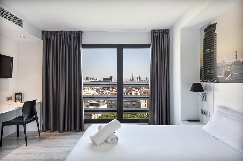 Andante Hotel Double Room with Panoramic Views of Barcelona