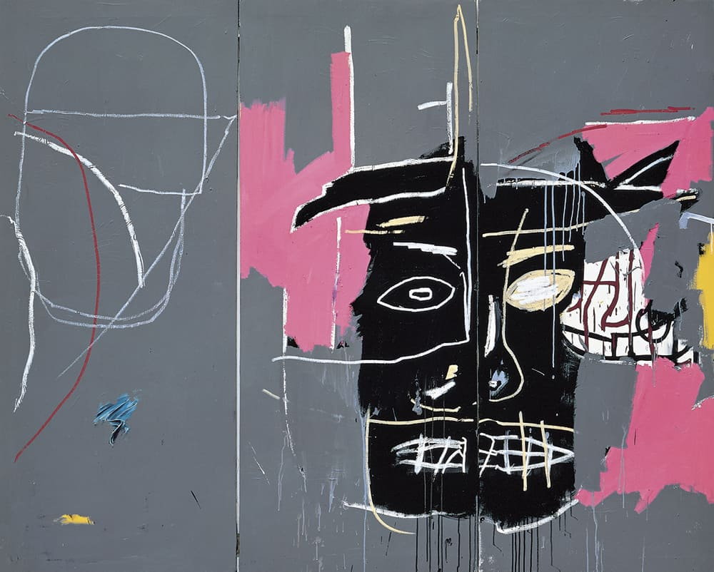 "Jean-Michel Basquiat: Beast. 1983, Acrylic on canvas. Courtesy of the Contemporary Art Collection ""la Caixa"" © The Estate of Jean-Michel Basquiat"