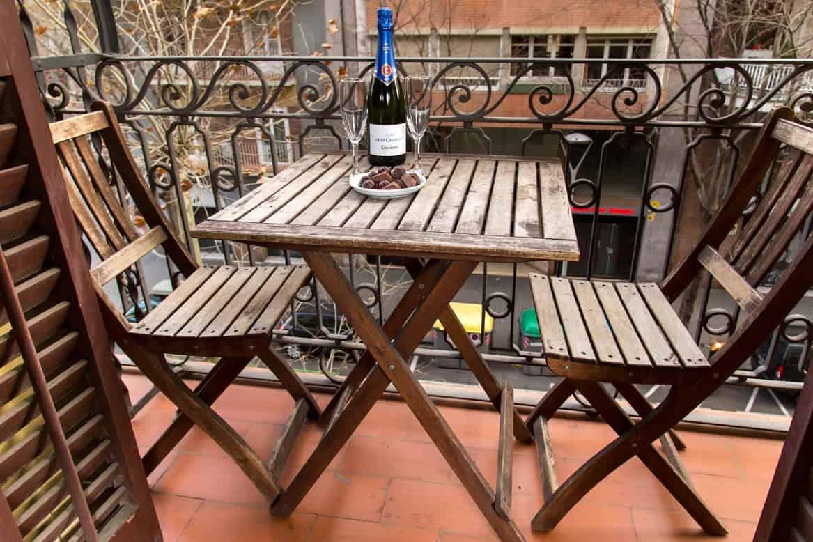 Casa Dover Balcony with Table
