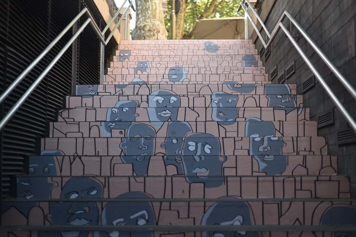 Swab Stairs 2016 Liceu Metro