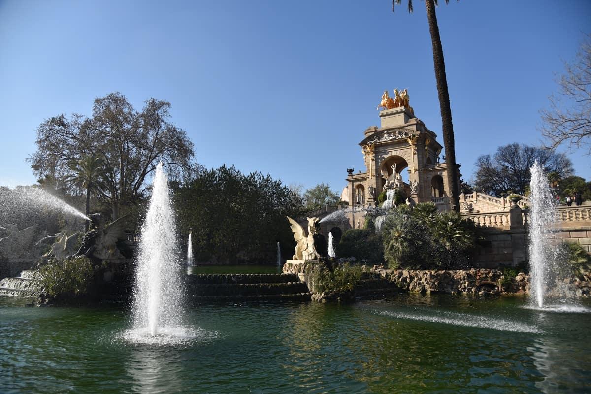 Waterfall Park de La Ciutadella
