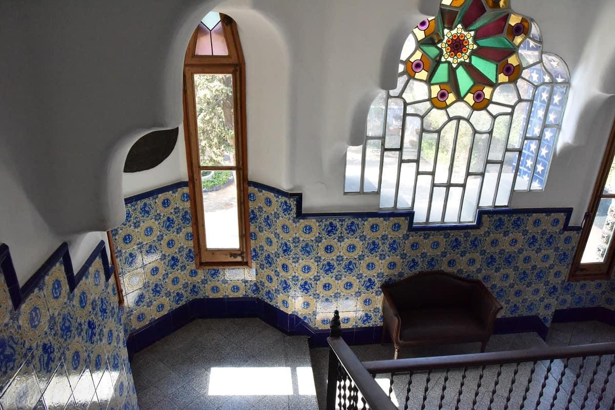 Torre Bellesguard Stairway