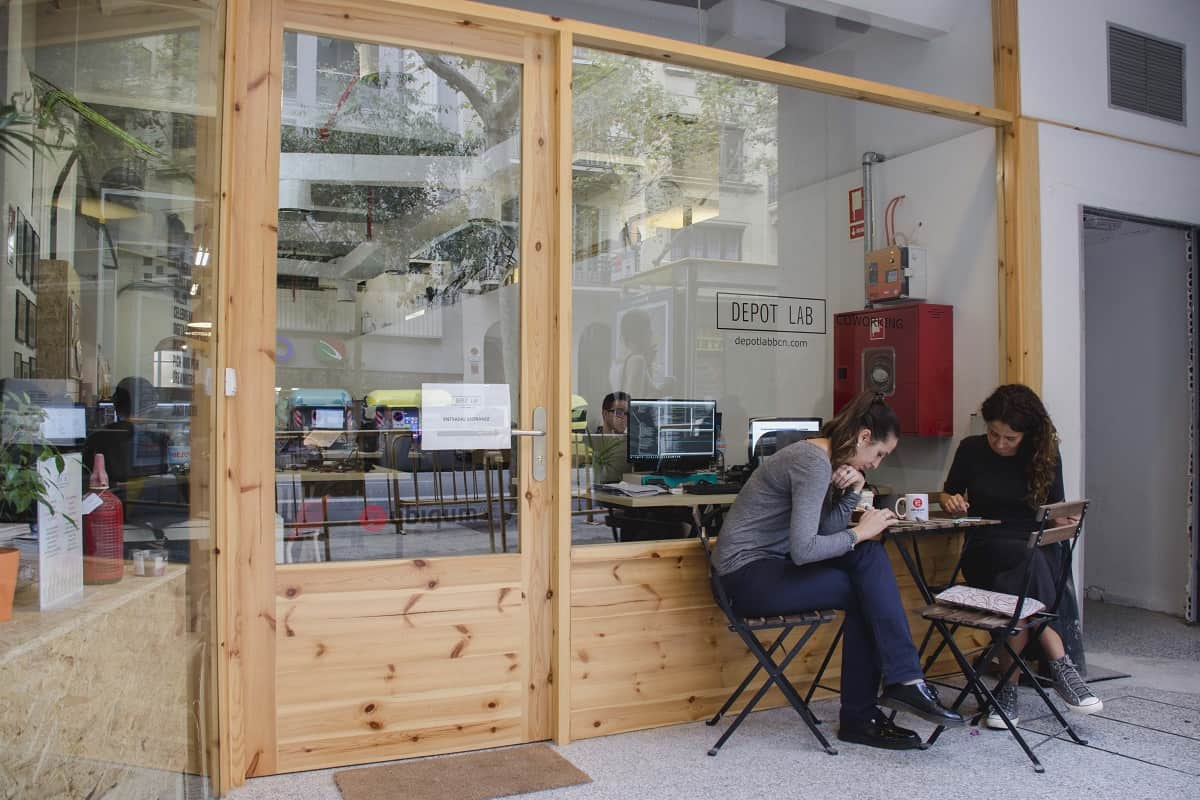 Depot Lab Barcelona Coworking Space