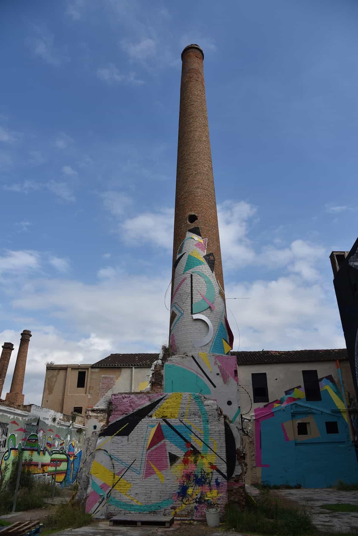 La Escocesa Chimney, Barcelona