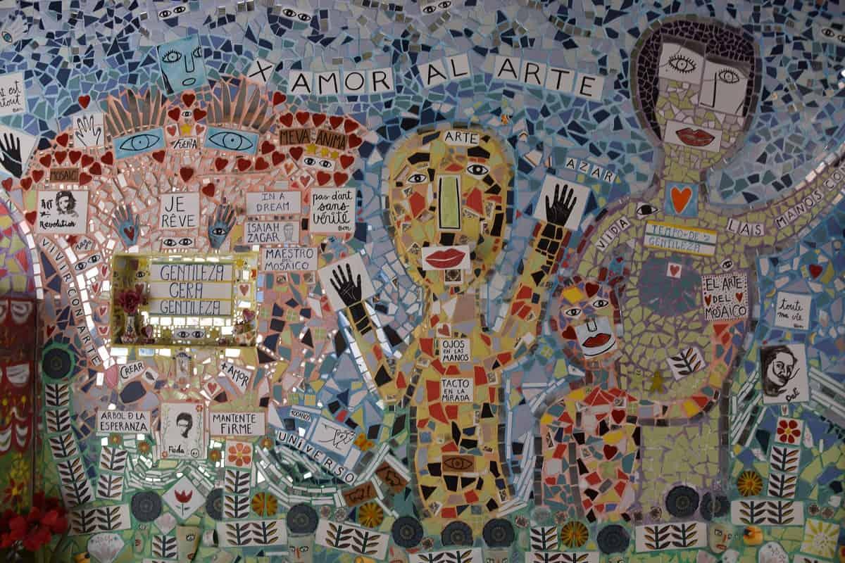 La Escocesa Trencadís Mural