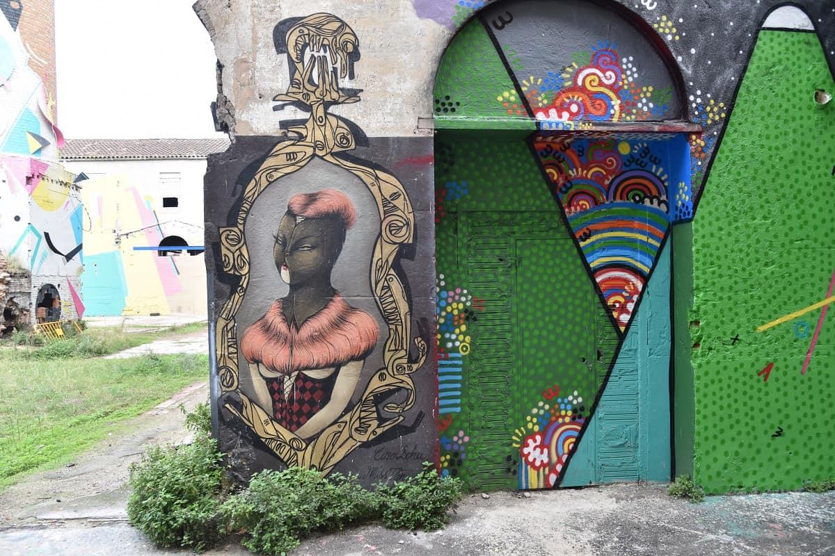 Mural By Miss Van at La Escocesa
