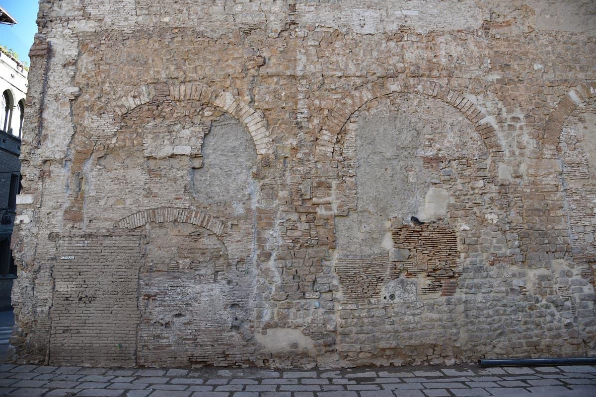 Roman Aqueduct on Carrer de Duran i Bas, Barcelona