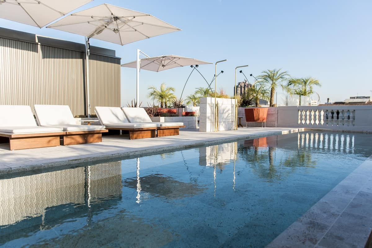 Azimuth Terrace at Almanac Barcelona Hotel