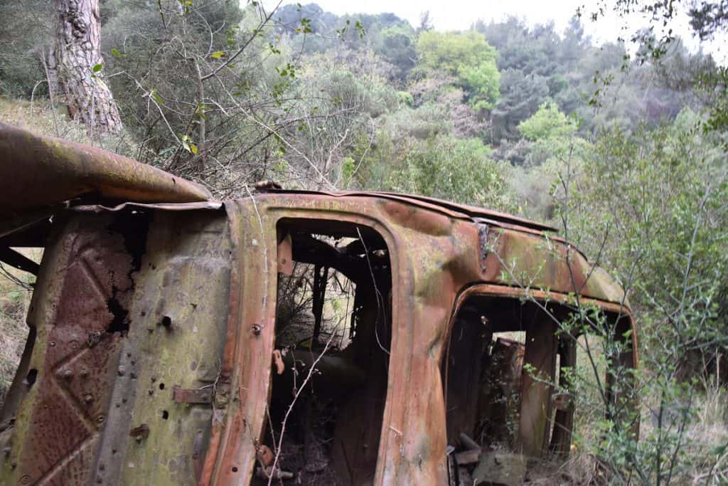 Abandoned Car Collserola