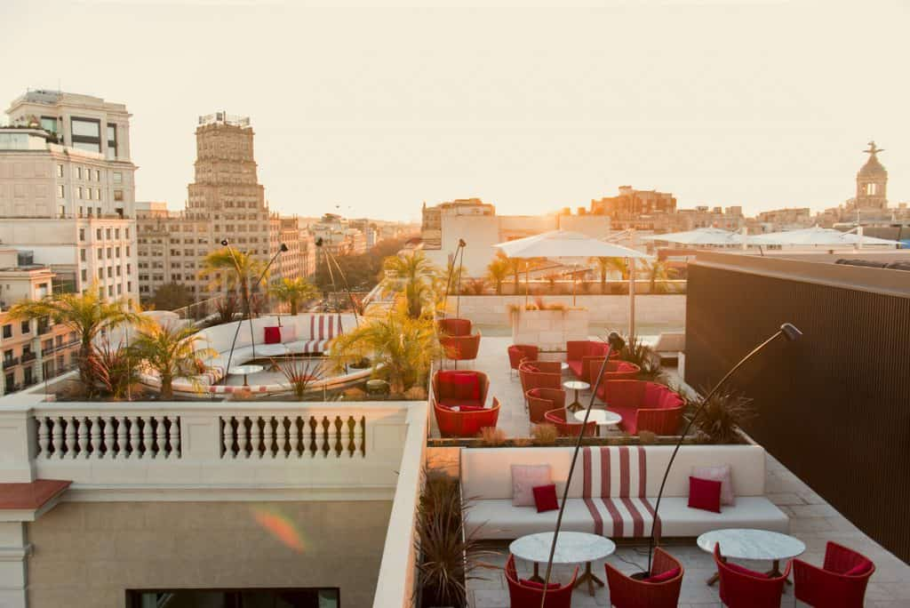 Azimuth Rooftop Terrace at Almanac Barcelona Hotel