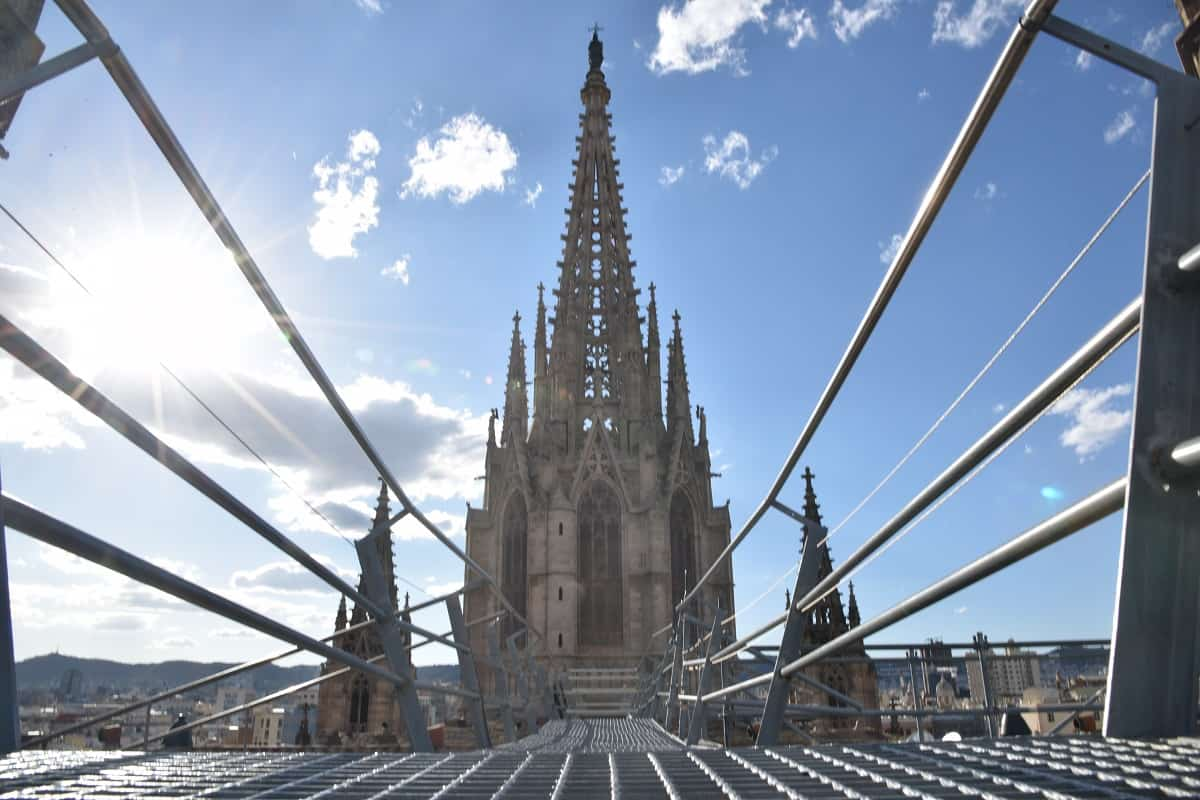 Barcelona Cathedral Rooftop
