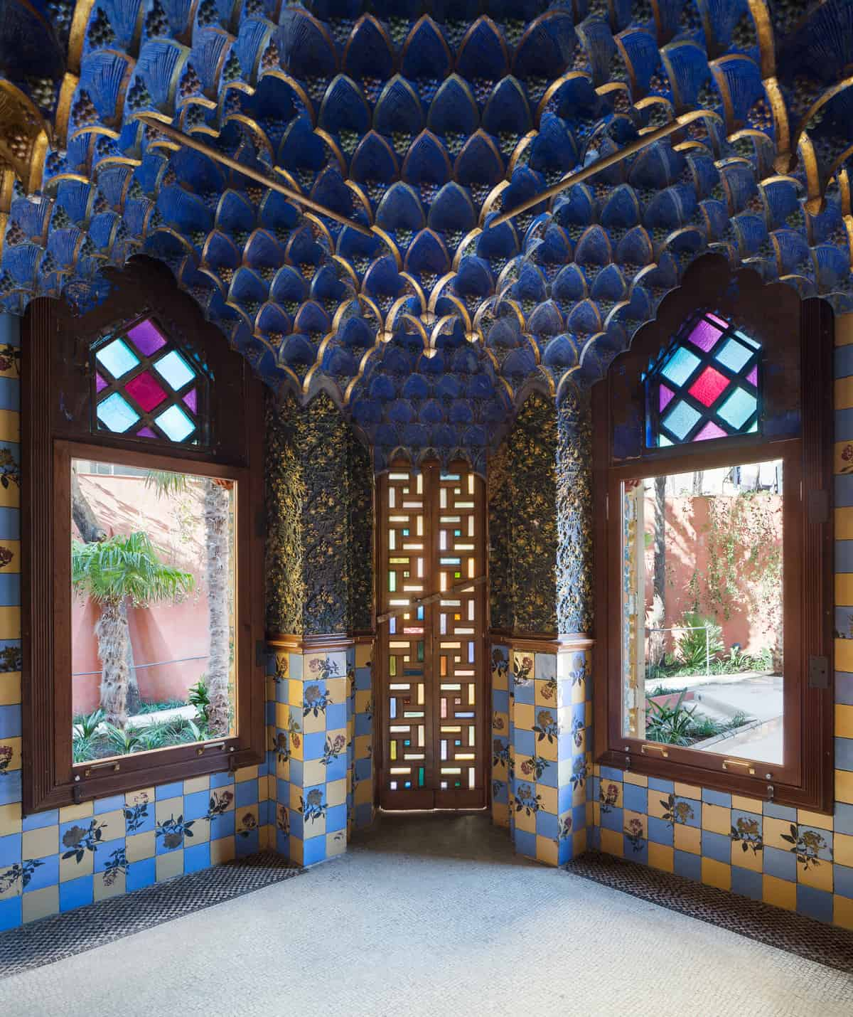 Casa Vicens Smoking Room