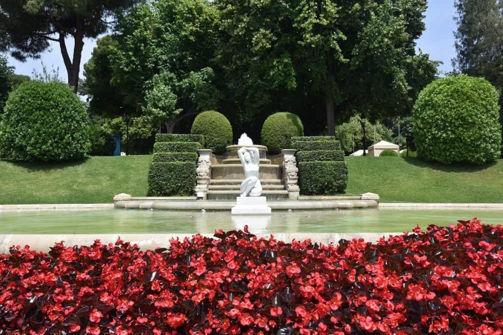 Jardins del Palacio de Pedralbes