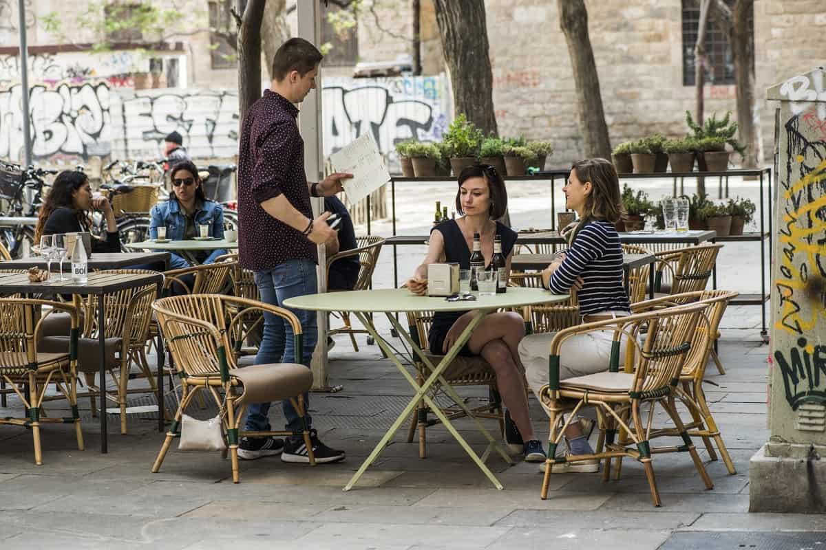 Llop Restaurant Terrace, El Raval Barcelona