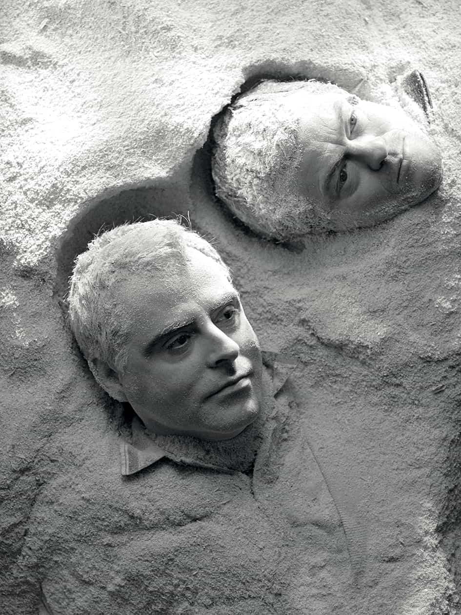 Antoni Llena i Àngel Jové, 1990