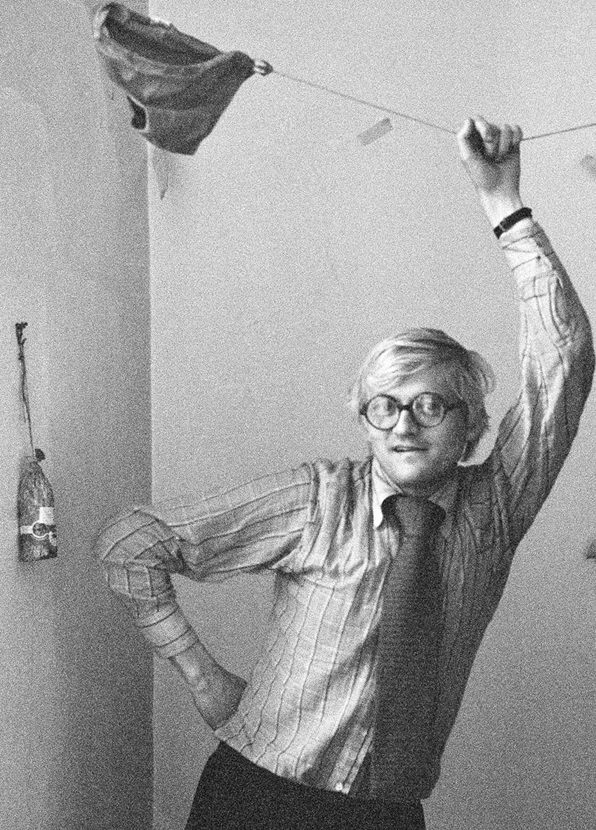 Antoni Bernad: David Hockney, 1975 Paris