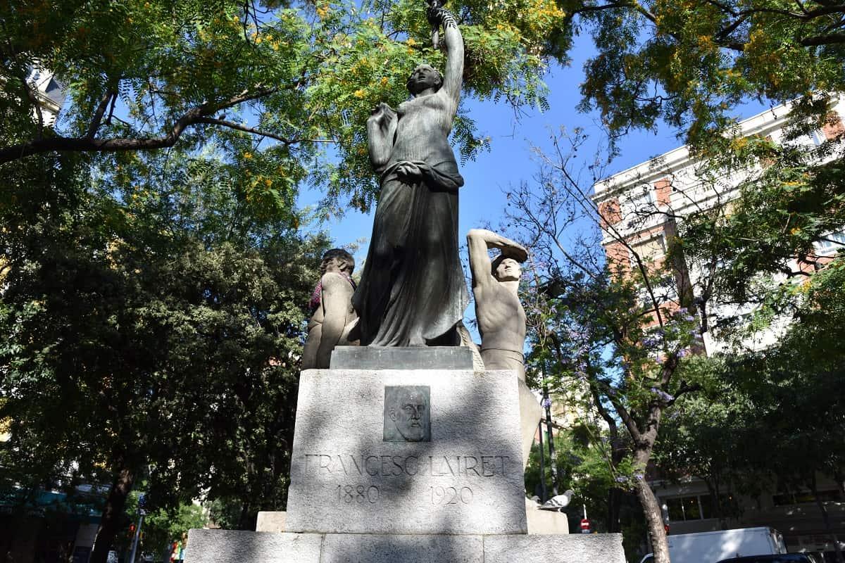 Francesc Lairet Monument