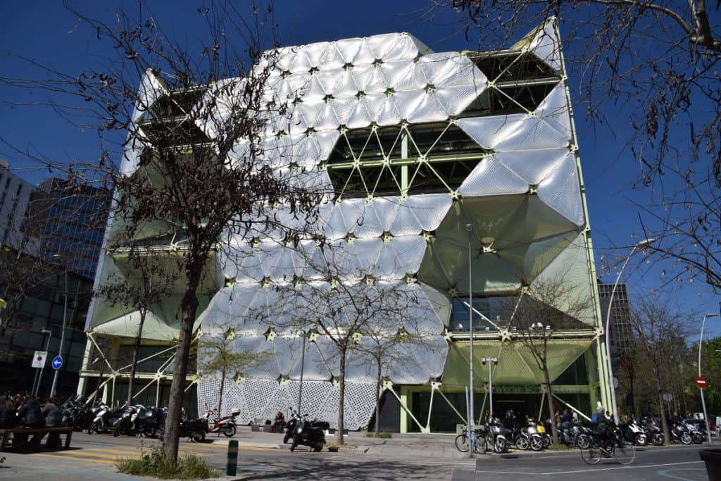 Media TIC Building in Barcelona