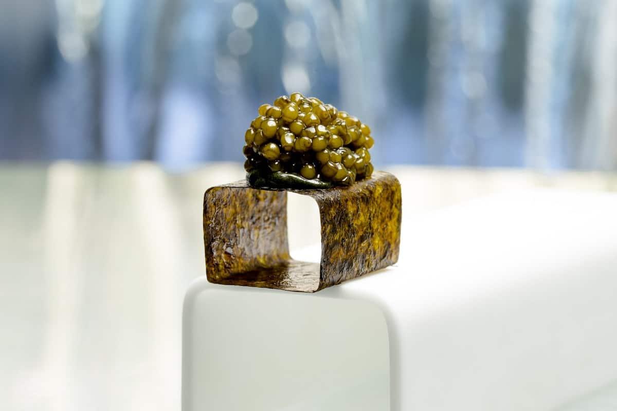 Cubo de caviar