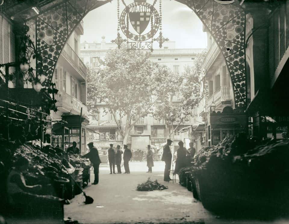 La Boqueria, 1928.
