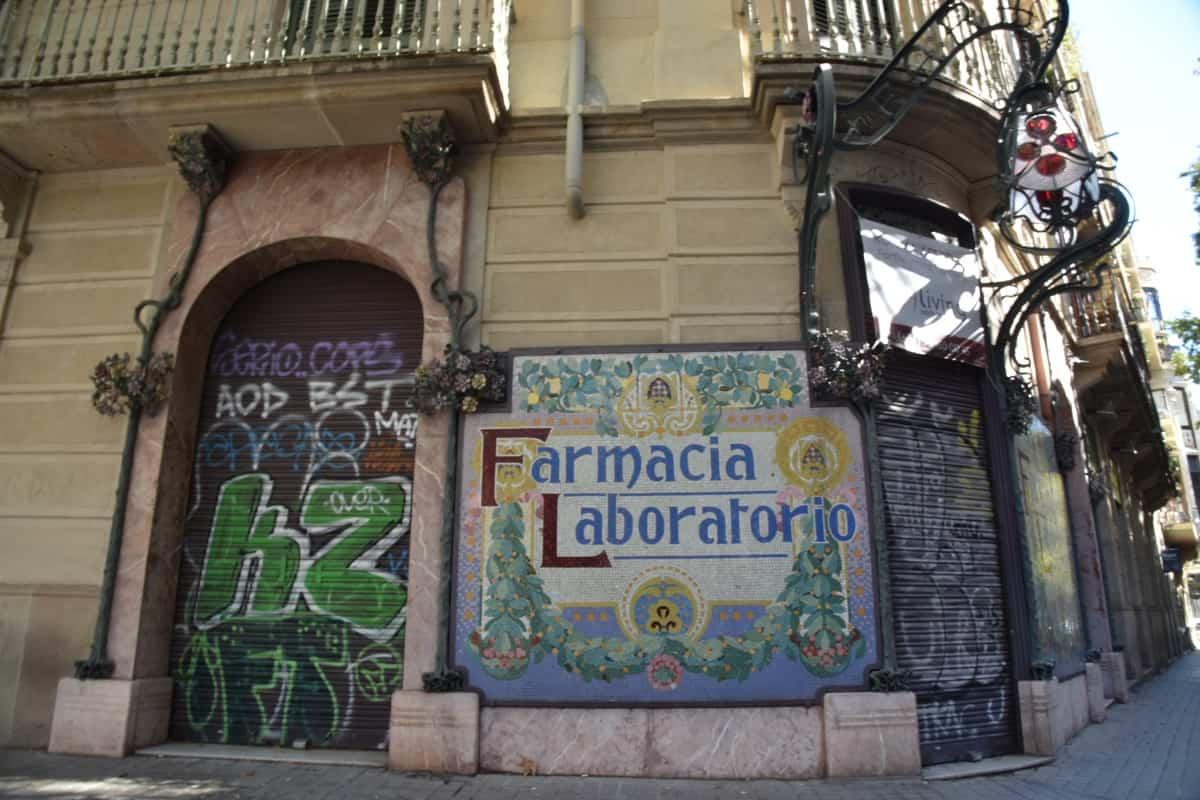 Antiga Farmàcia Doctor Palomas