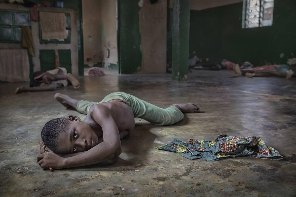 Ana Palacios: child slave. Kara, Togo 2016.