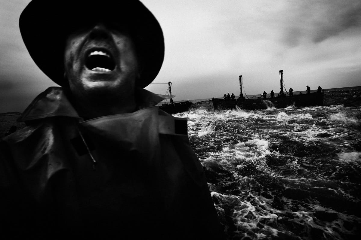 Antonio Gonzalez Caro: Fisherman of Almadraba Conil. Cadiz, 2013.