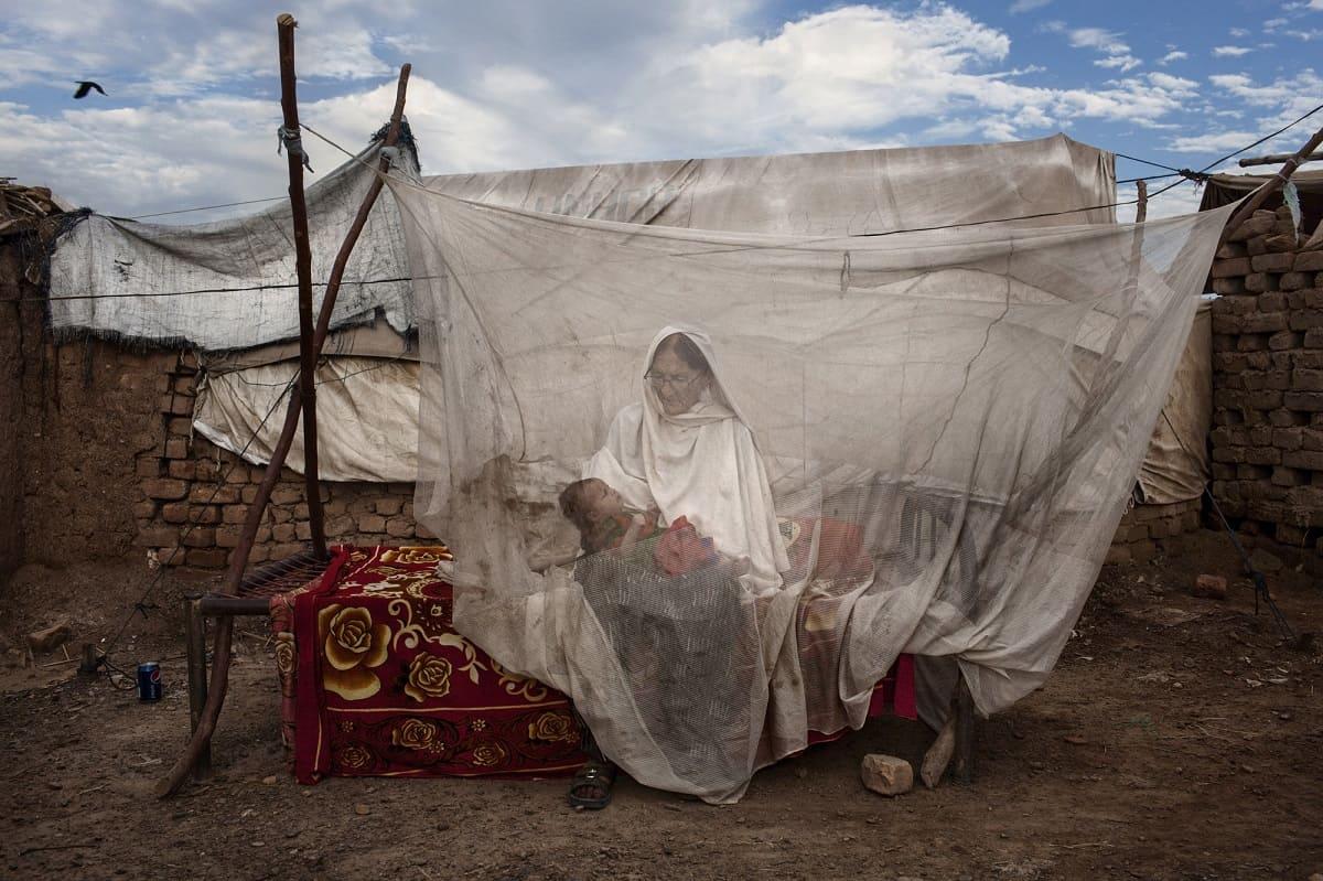Diego Ibarra Sánchez: Pakistani refugees in the camp of Jazolai. Pakistan, 2014.