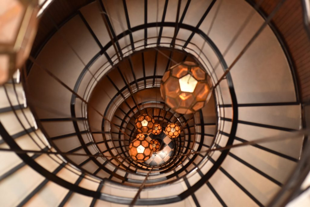 Spiral Staircase, Cotton House Hotel Barcelona