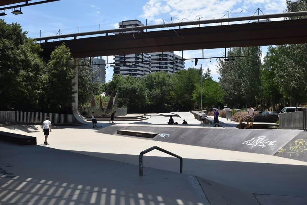 Skatepark de Les Corts