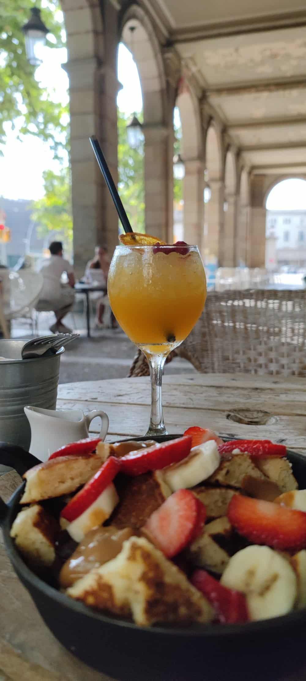 Alsur Café: Choco-Banana Kaiser Pancakes